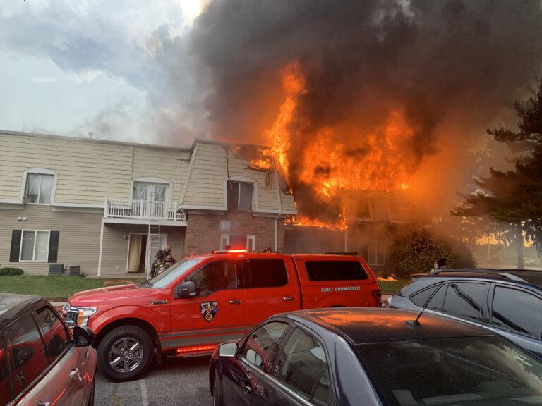 Multi Unit Apartment Fire at Ten West Apartments
