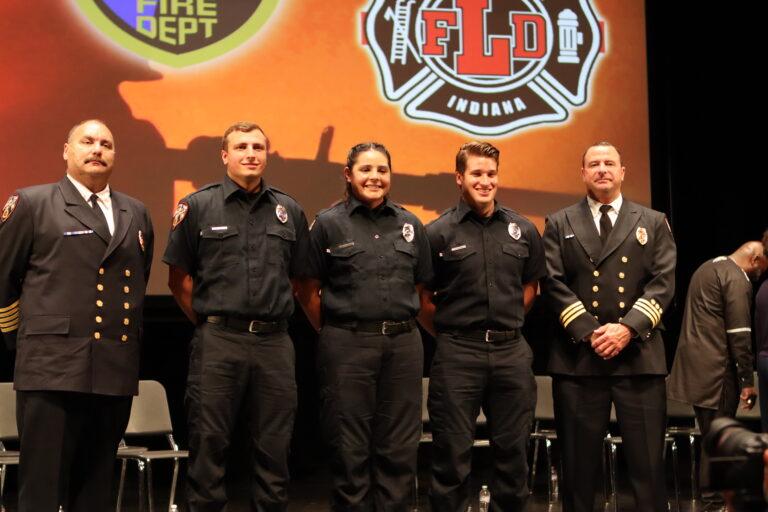 Three New Firefighters Sworn In