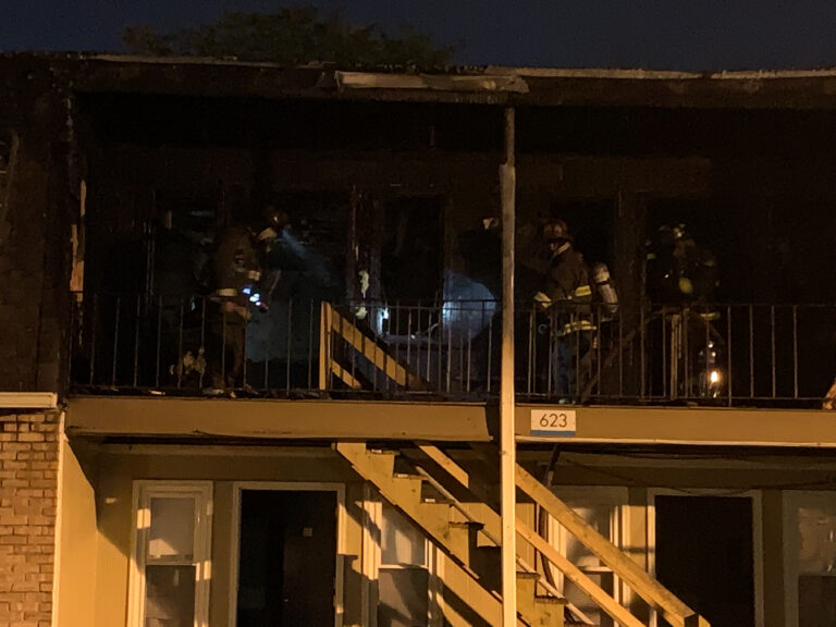 Engine 84 is first due at Boardwalk Apartments