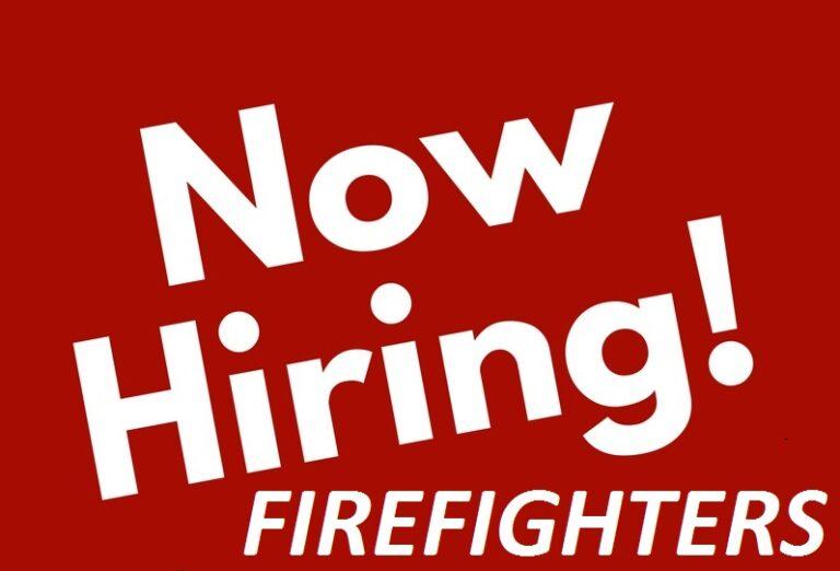 Firefighter Hiring Process Opens Tomorrow